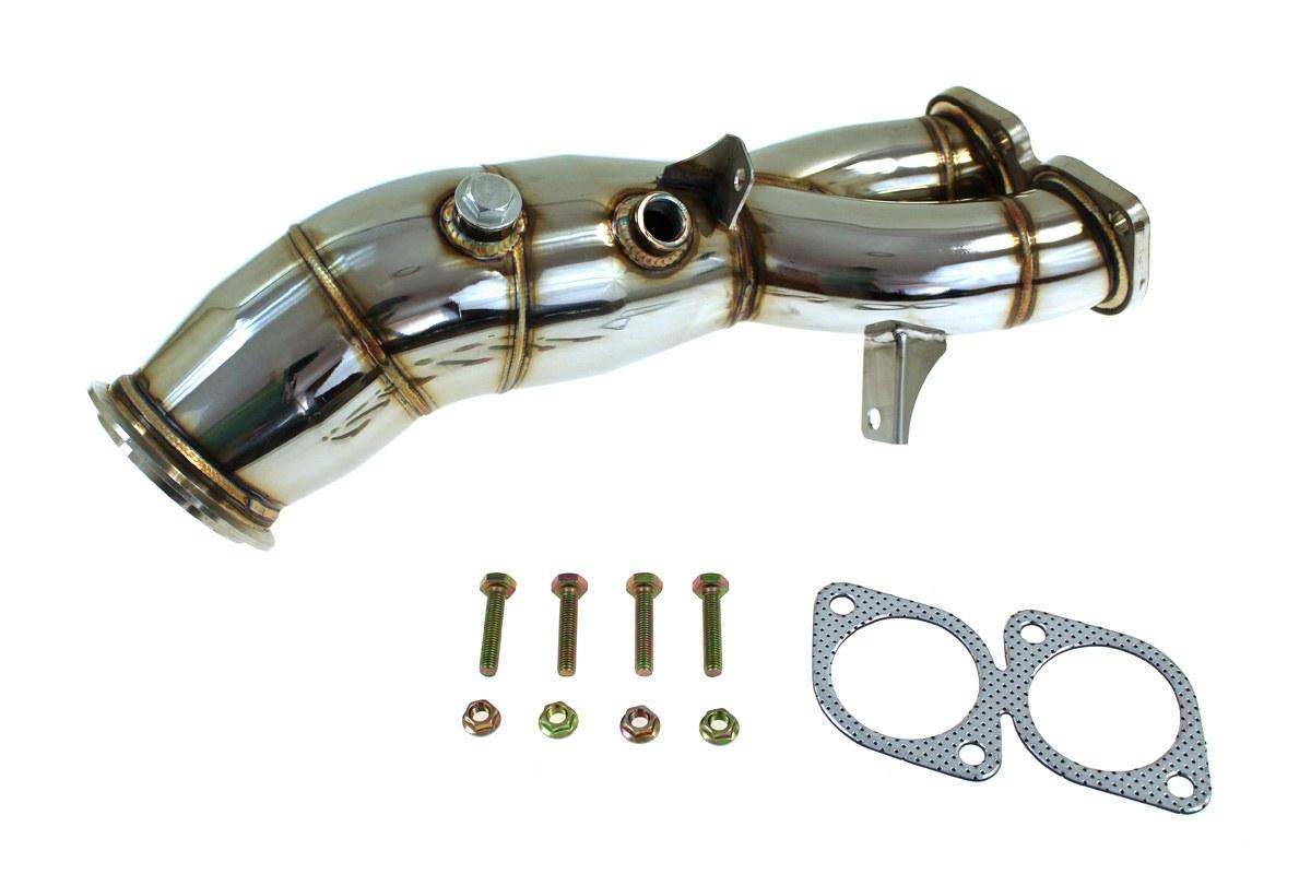 Downpipe BMW E82 E88 N55 135I DECAT - GRUBYGARAGE - Sklep Tuningowy